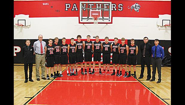 The 2017-2018 Park City Panther basketball team