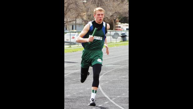 Reed Point-Rapelje sophomore Dylan Blodgett.