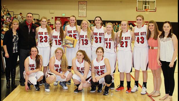 The 2017 Park City Lady Panthers