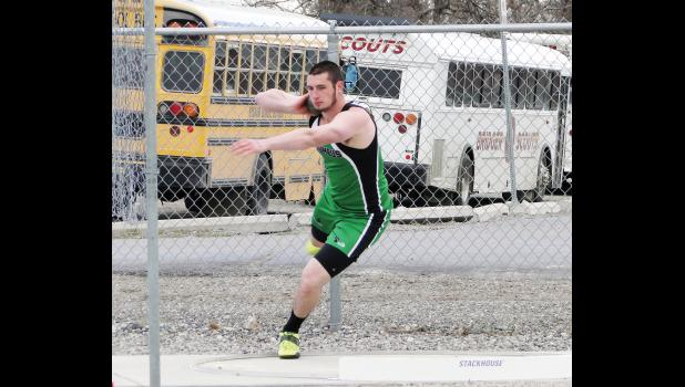 Columbus High School's Weston Wagner was a double-winner at last week's Park City Track Invitational.
