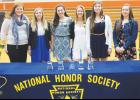 From the leftt: Katrina Feddes, Makayla Peterson, Emma Chandler, Keely Mills, Colleen Culbertson and  Emma Kelly.
