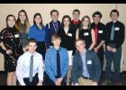 The Columbus High School BPA chapter at the State Leadership Conference in Billings.  