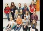 Participants in this year's Battle of the Books from Columbus and Park City.