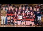 The third-place Park City Panther varsity volleyball team following the Divisional Tournament on Nov. 7. Left to right are, front row, MacKinzie Verke, Grace Jacquot, Hailee Gregerson and Blakely Verke; back row, assistant coach Miranda Robbie, Shelby Kluth, Breanna Anderson, Makayla Downing, Shelby Branstetter, Tehya Ray, Megan Flemmer, Kasidy Robbins and head coach Karlee Popp.