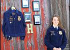 Heidi Froelich, an active member of Future Farmers of America throughout her time at Park City High School, was awarded a scholarship from the National FFA Organization to aid with her studies at Montana State University in the fall.