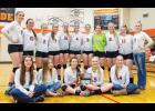 The Park City Panther volleyball squad.